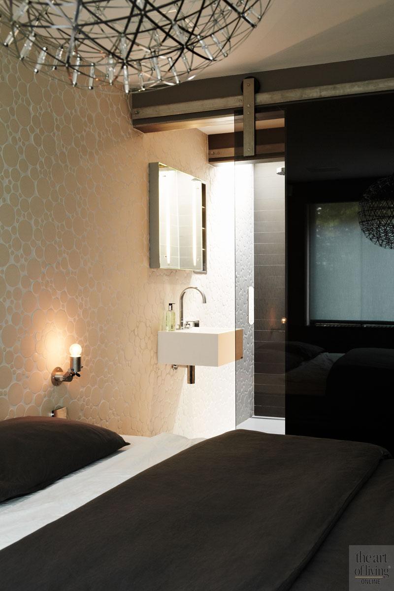 Slaapkamer, master bedroom, wastafel, sanitair, extreme verbouwing, osiris Hertman
