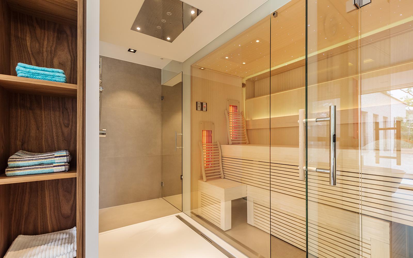 Sauna In Badkamer : Alpha industries the art of living nl