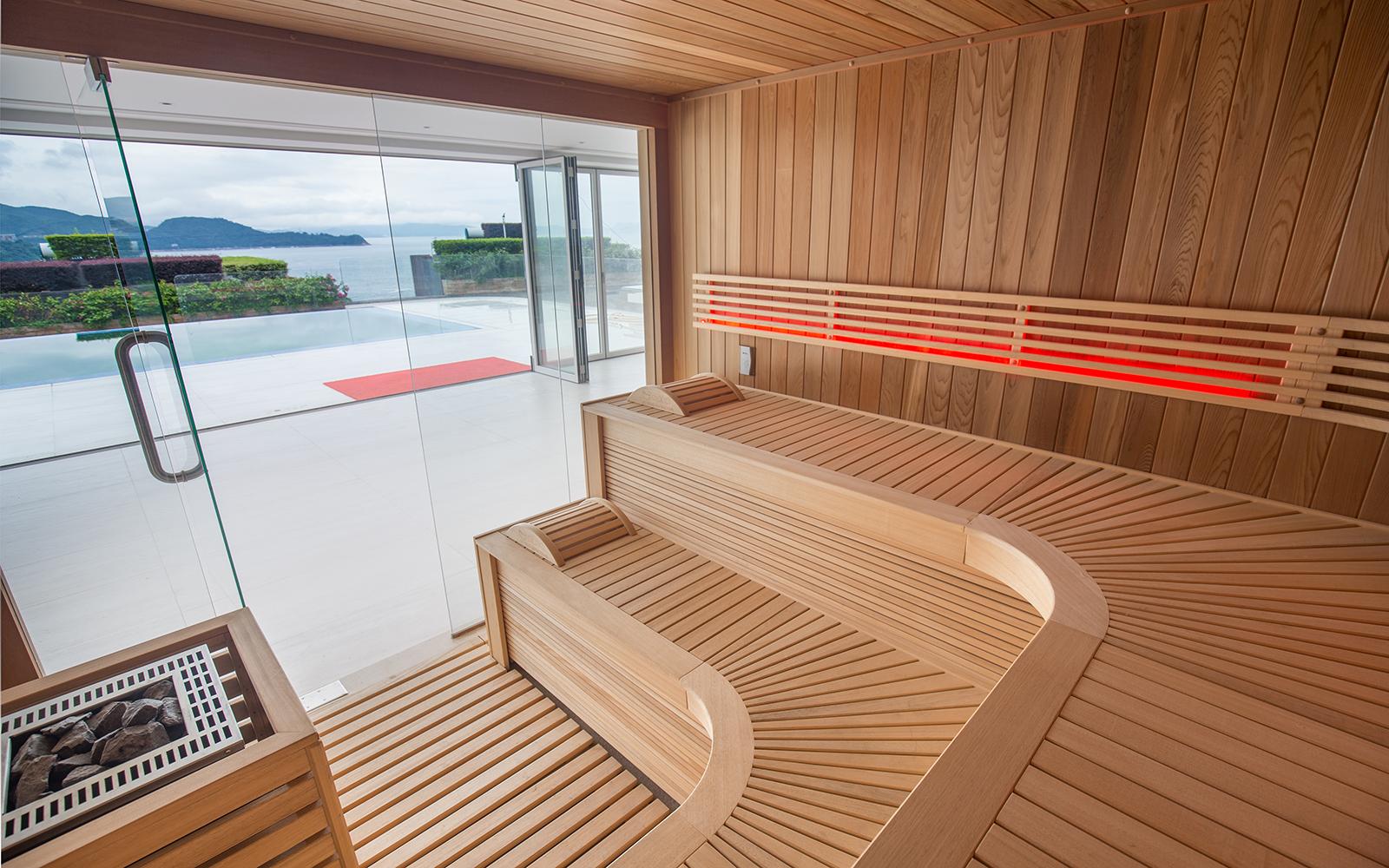 Alpha Industries, wellness, spa, sauna,