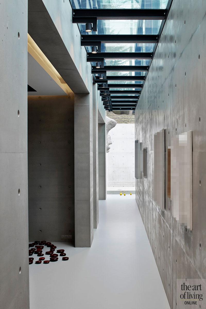 Glas, doorkijk, lichtstraat, magisch effect, Alvista, lichtinval, oud ontmoet nieuw, VVR Architecten
