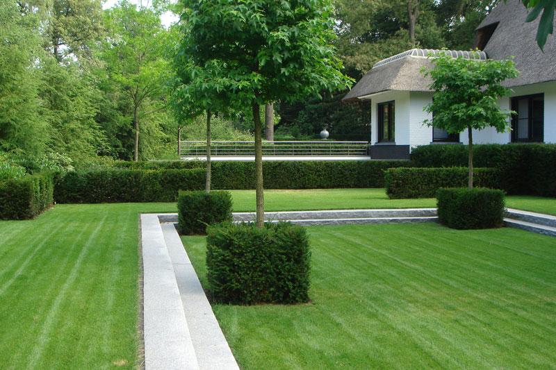 Tuin, Poortvliet en Partners, Ginkel Groep, kijktuin, privacy, rust, sfeer, Vijver, riante villa, Leeflang Architectuur