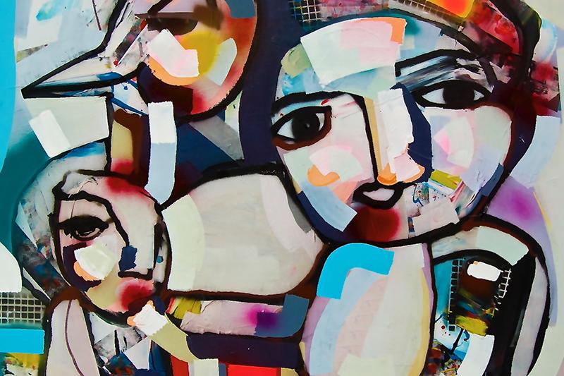 Schilderij, Pim Smit, Artstudio, Kunst, Galerij