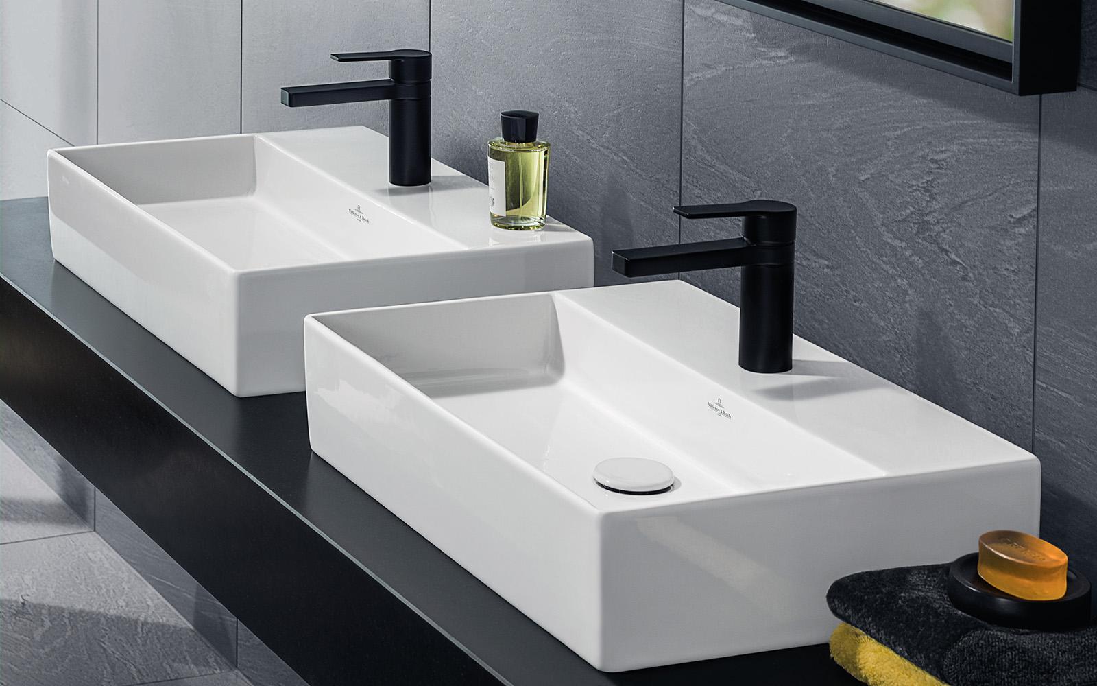 Villeroy & Boch, Memento collectie, badkamer collectie, badkamer trends 2018
