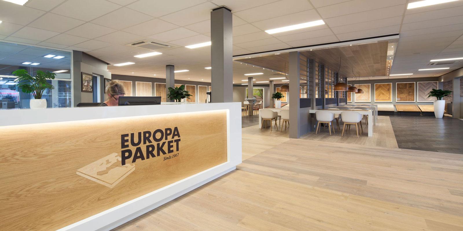 Europa Parket | Vernieuwde Showroom