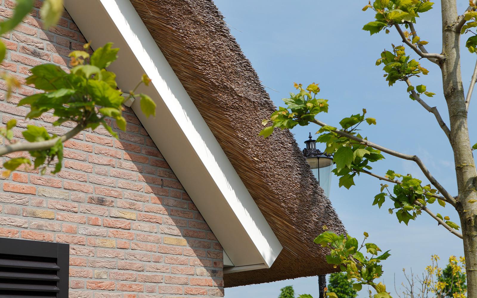Rieten dak, riet, Rietdekkersbedrijf Eugène Maas, hedendaags landhuis, Marco Daverveld