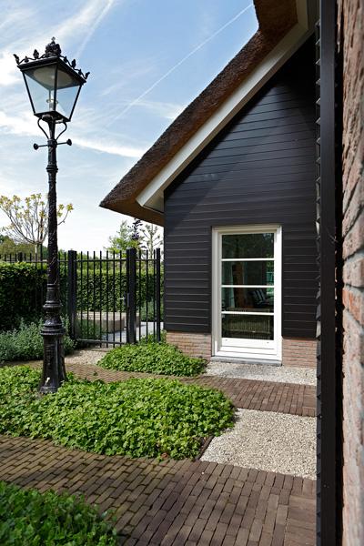 Hedendaags landhuis, rieten dak, woning, villa, Marco Daverveld
