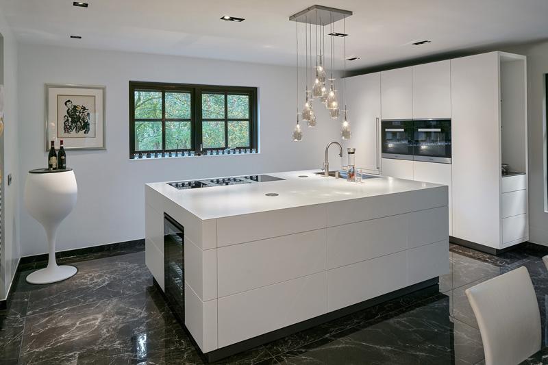Verbouwing maatwerk keuken, Maretti Lighting, design verlichting, betaalbare verlichting, exclusieve verlichting, the art of living