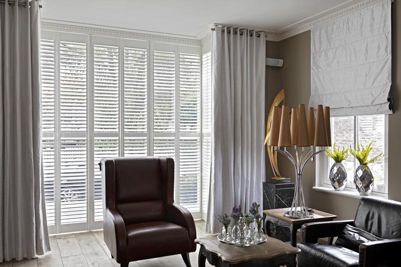 Shutters, Jasno, zithoek, ontspannen, Franse villa, Hertroijs Architekten