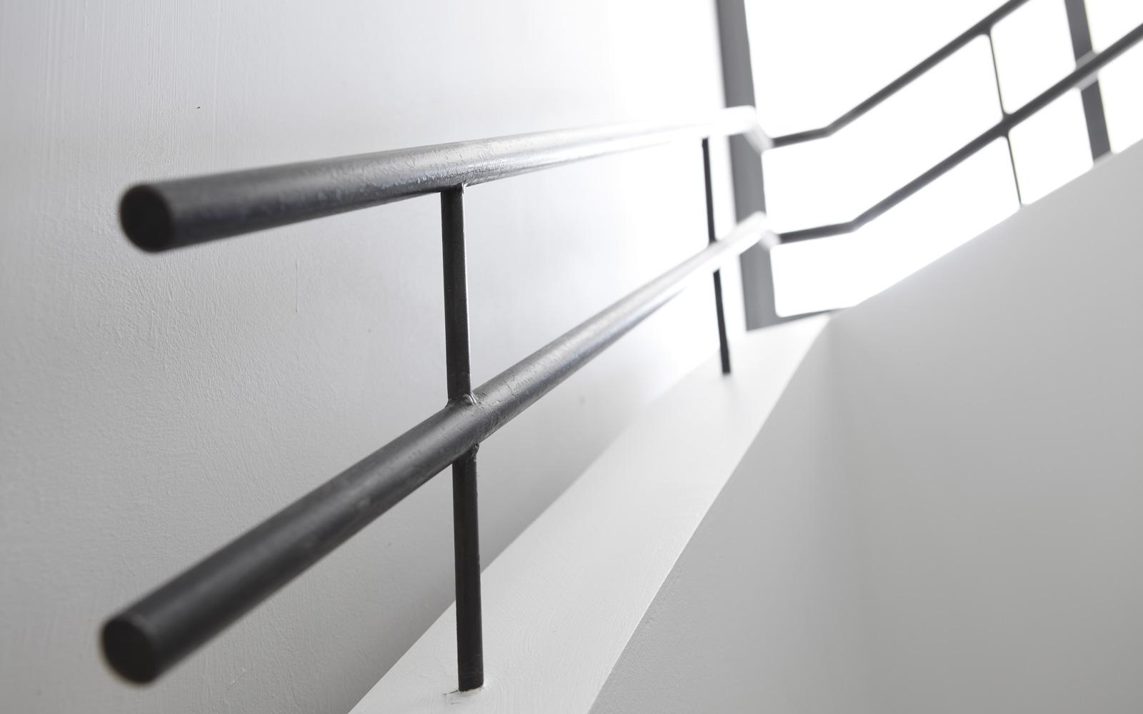 trap, zwevende trap, trapleuning, Franse villa, Hertroijs Architekten