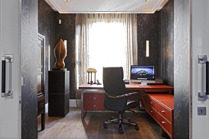 Werkplek, studeerkamer, home office, Franse villa, Hertroijs Architekten