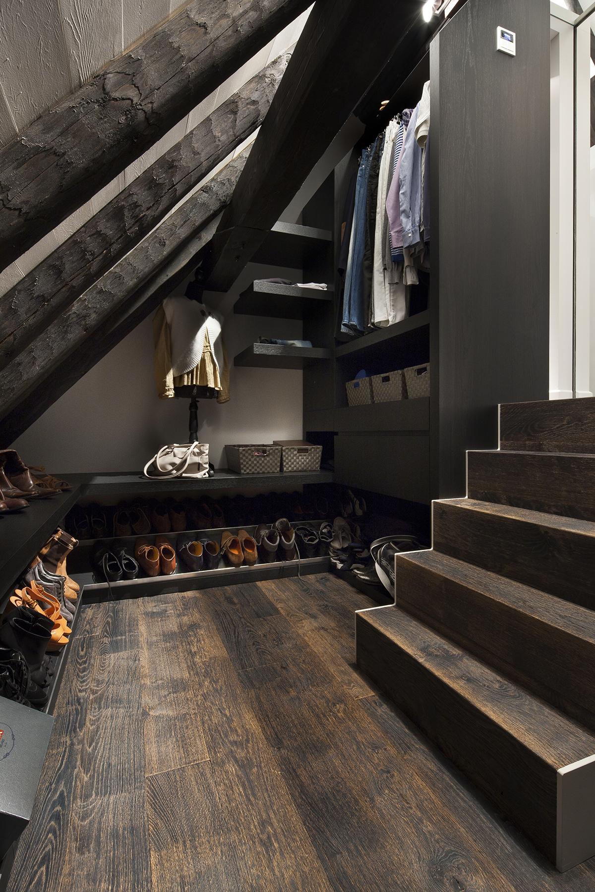 Inloopkast, maatwerk, interieur, francois hannes, modern