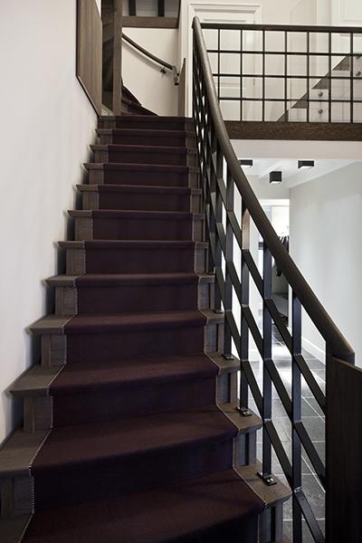 Trap, balustrade, trappenhuis, traploper, Paola Lenti