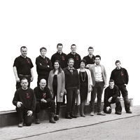De Rooy Metaaldesign team