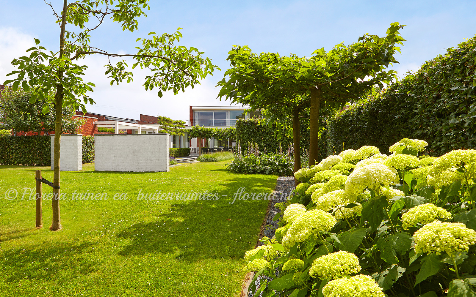 Sfeervolle tuin, Florera, Tuinaanleg, Tuinontwerp