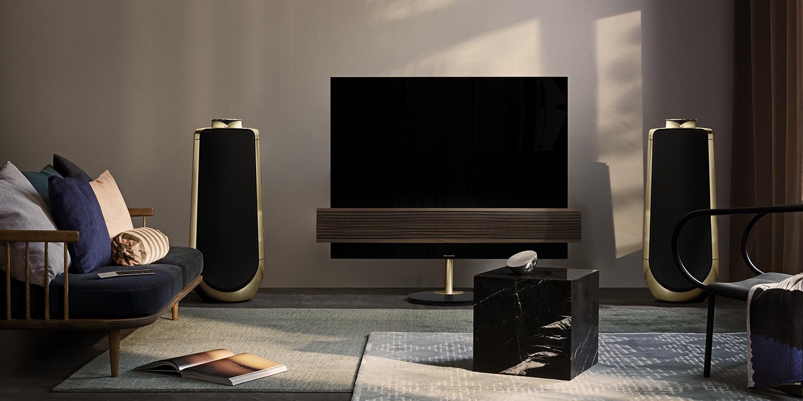 bang&olufsen eclipse tv en Brass Tone Speaker