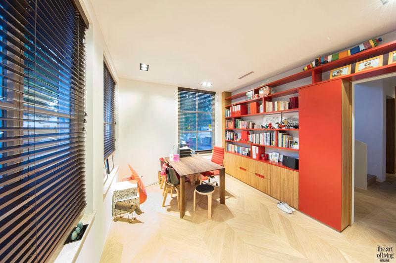 Kantoor, home office, werkplek, modern en eigentijds, De Bever Architecten