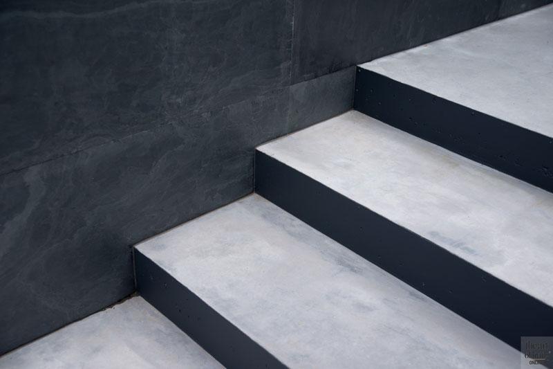 Trap, beton, Trivium Ceramics, wellnesstuin, Studio REDD