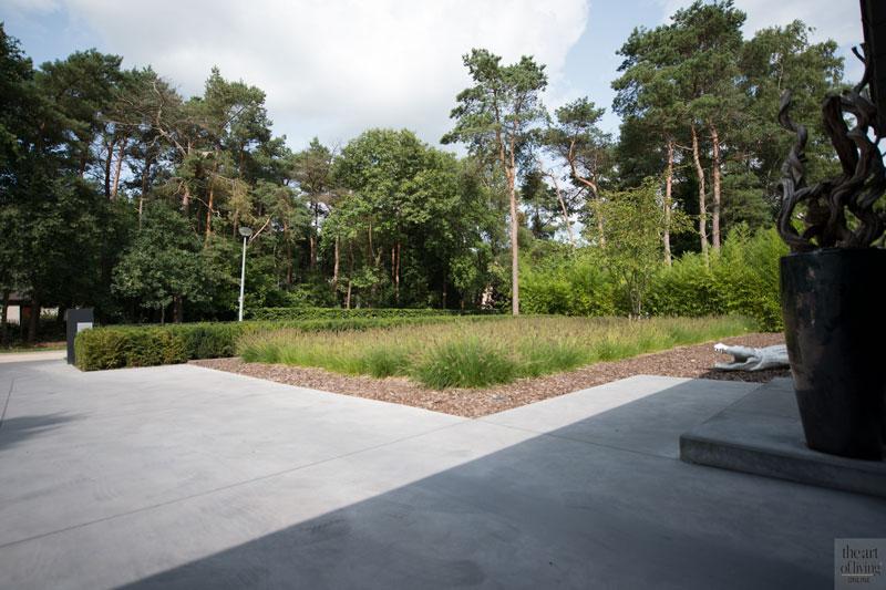 Tuin, beton, terras, wellnesstuin, Studio REDD, Trivium Ceramics