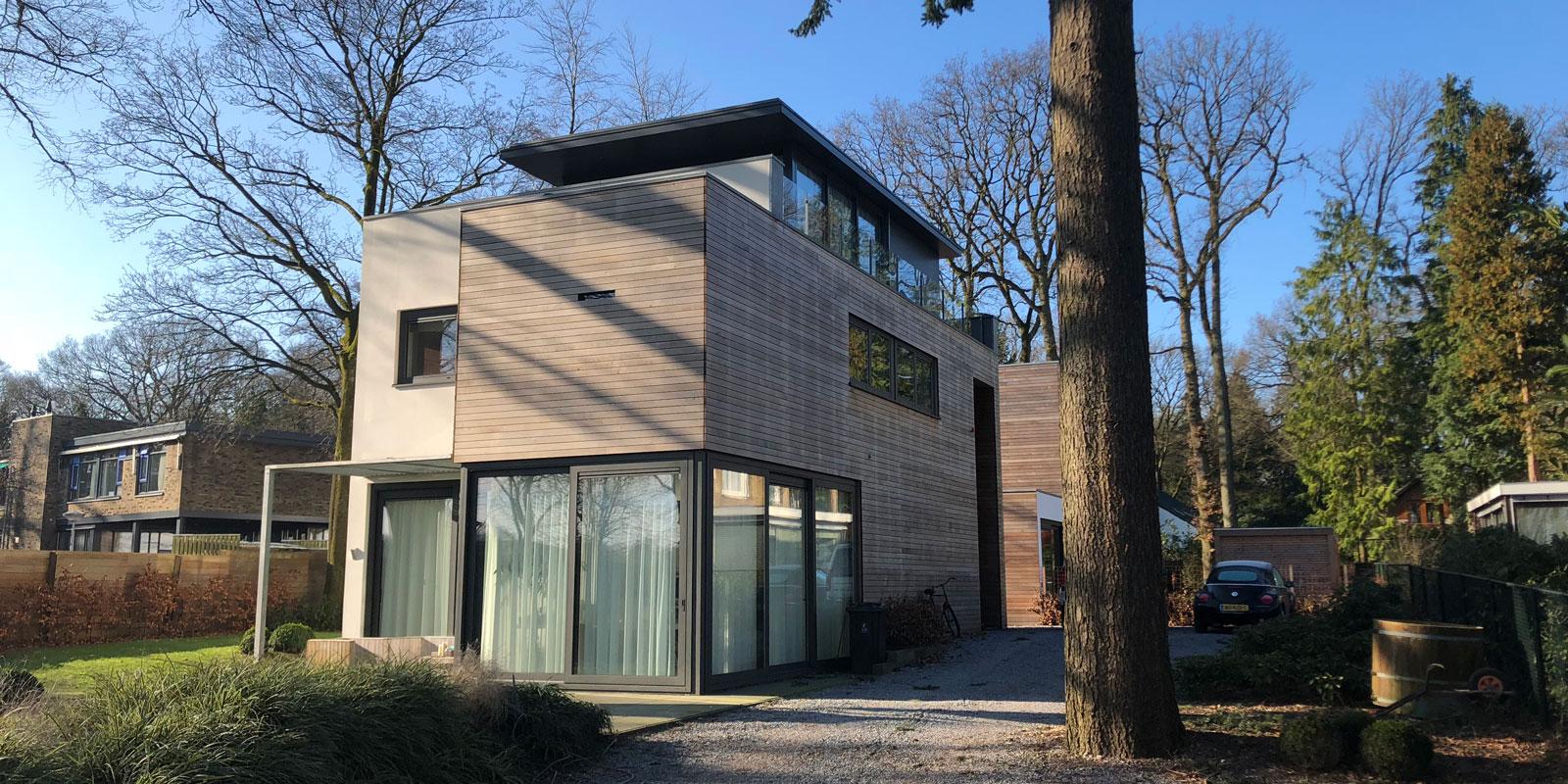 eco villa, architectenburo De Vries & Theunissen, architectenbureau, villabouw, duurzame villa, ecologische villa, the art of living