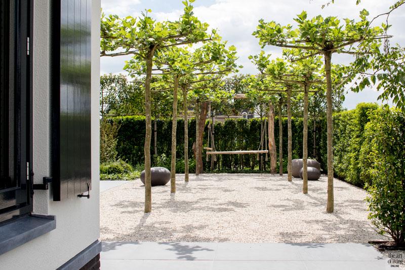 Tuin, ontwerp, Meker Tuinen, tuinmeubelen, Borek, landelijke nieuwbouw, Kabaz