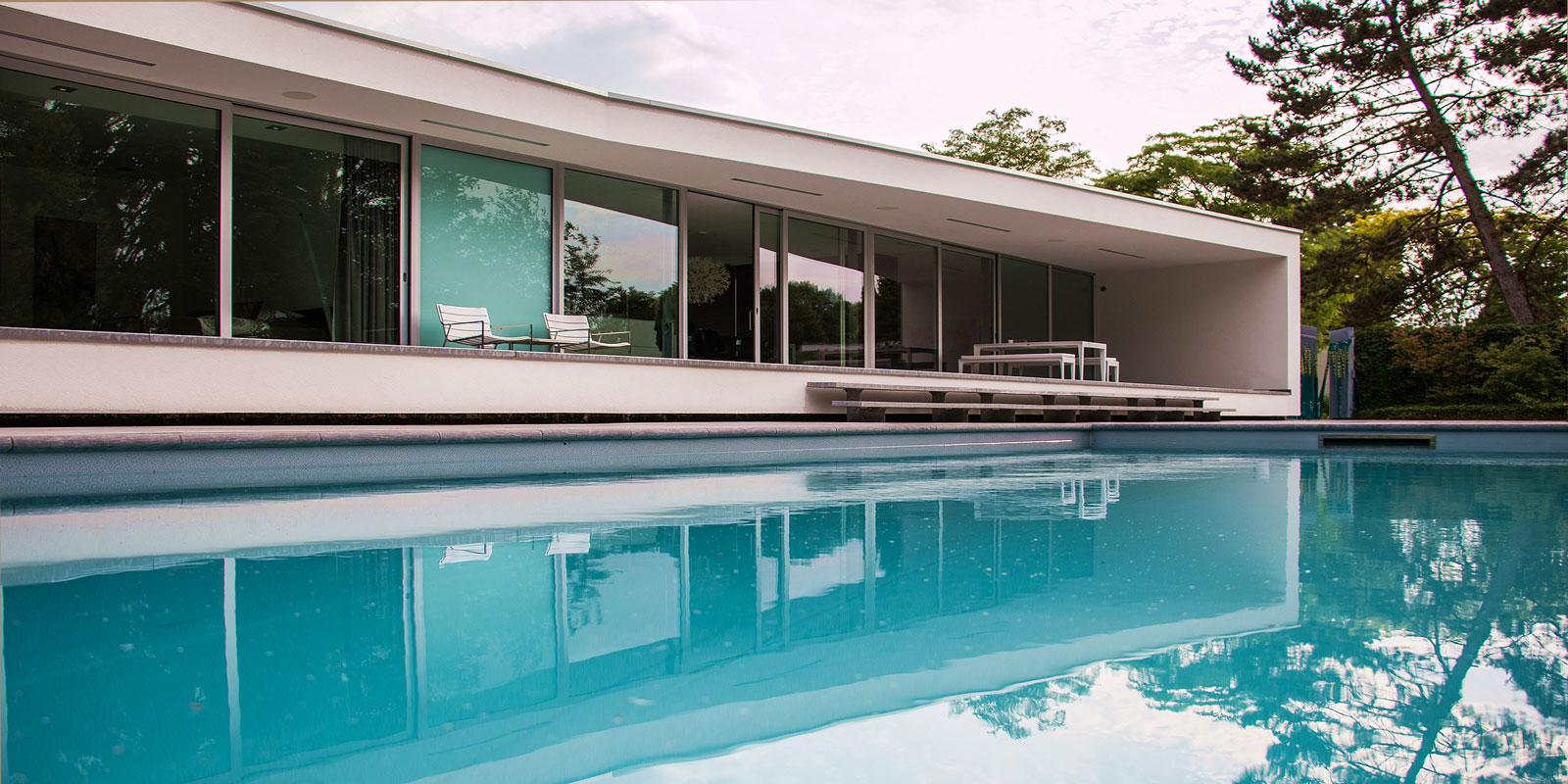 Zwevende villa | Lab32 architecten