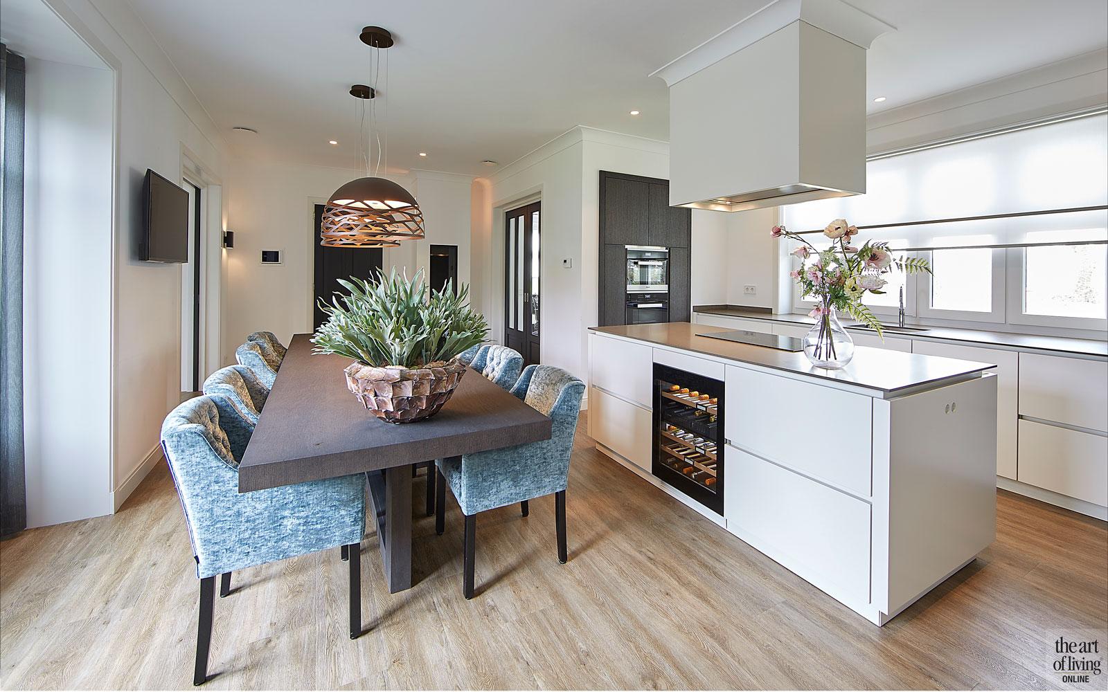 Keuken, Van den Berg Keukens, kookeiland, afzuigkap, ATAG, Miele, jaren 30 villa, Marco Daverveld