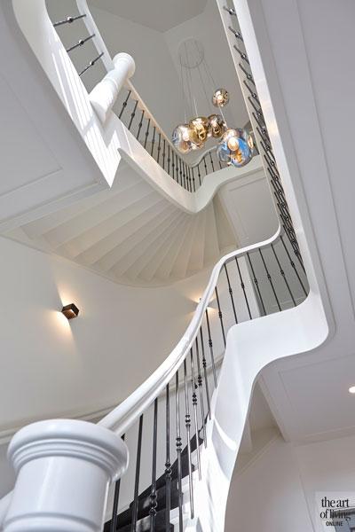 landelijke trappen nieuwbouw