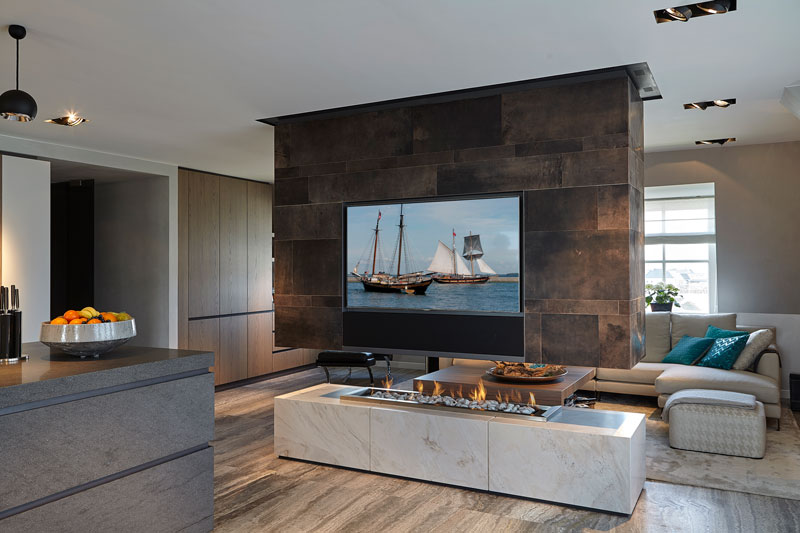 Penthouse, Eric Kant, alphenberg leather, leren wanden, leer, the art of living