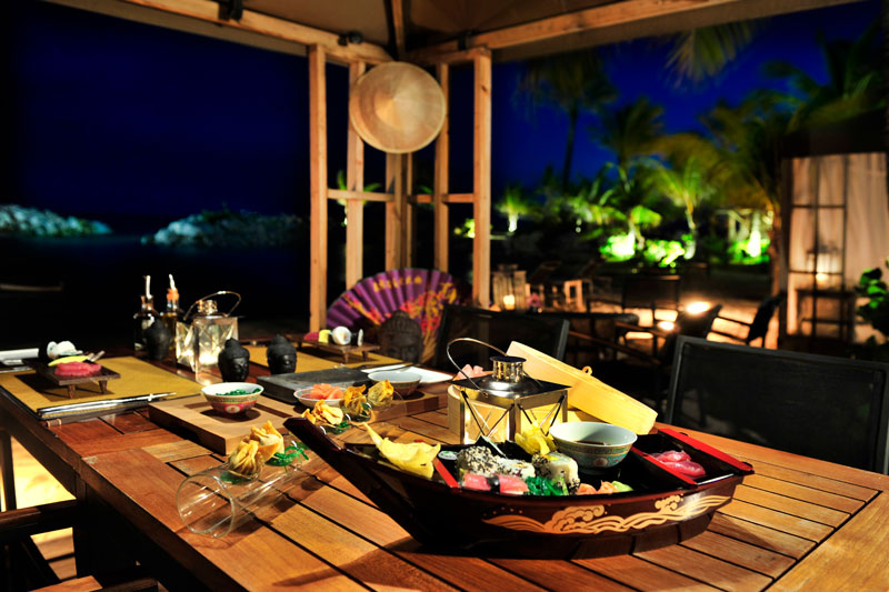 Baoase Luxury Resort Curaçao, restaurant