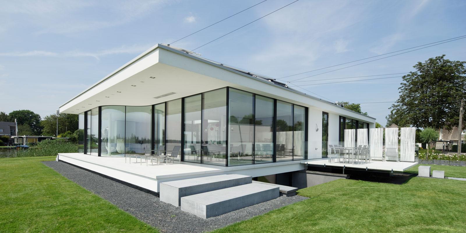 Villa aan het water | Lab32 architecten
