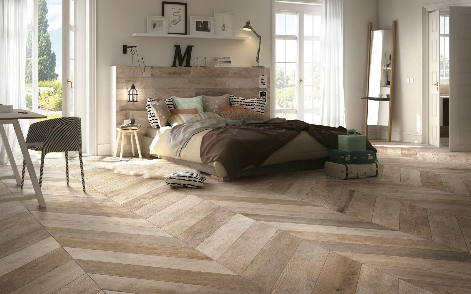 Grove Visgraat Vloer : Wonen op hout the art of living nl