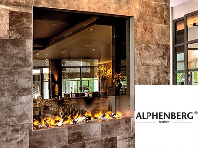 Alphenberg Leather, leren bekleding, leren wanden, leren vloeren, trapbekleding, keukens in leer