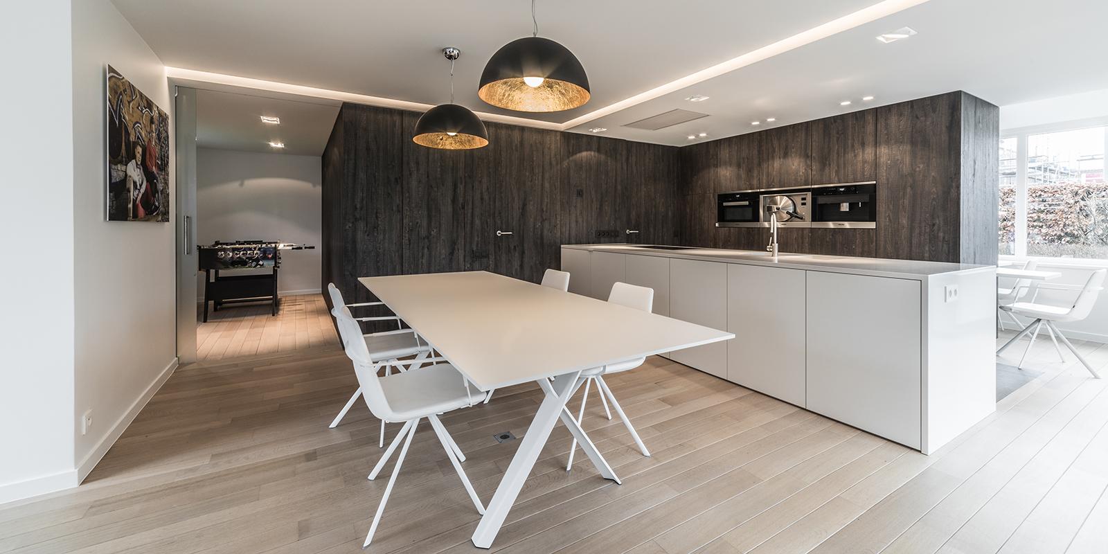 Decolegno, decoratief plaatmateriaal, Italiaanse merk Cleaf, scheidingswanden, ruimtelijke leefomgeving