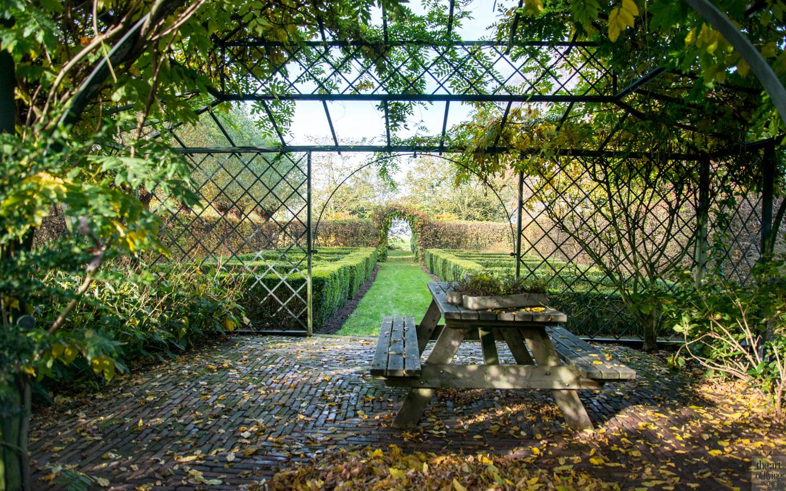 Tuin, terras, buitenleven, landelijk, modern, Hemels Wonen