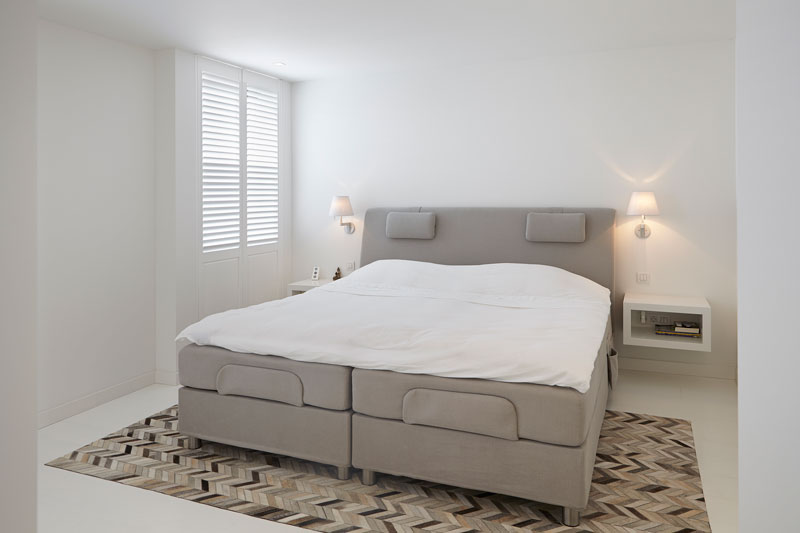 Slaapkamer, master bedroom, bed, boxspring, penthouse, Marco Daverveld