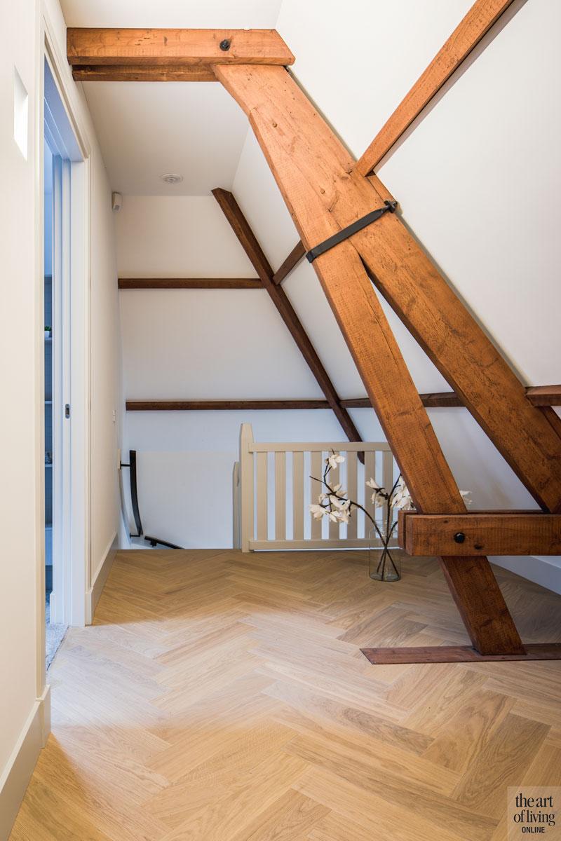 Houten balken, authentiek, monumentale villa, Van den Wildenberg