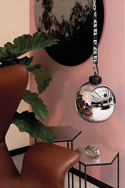 Diesel, Foscarini, Wrecking ball, Sloopkogel, Interieur, Design, Exclusief, Urban