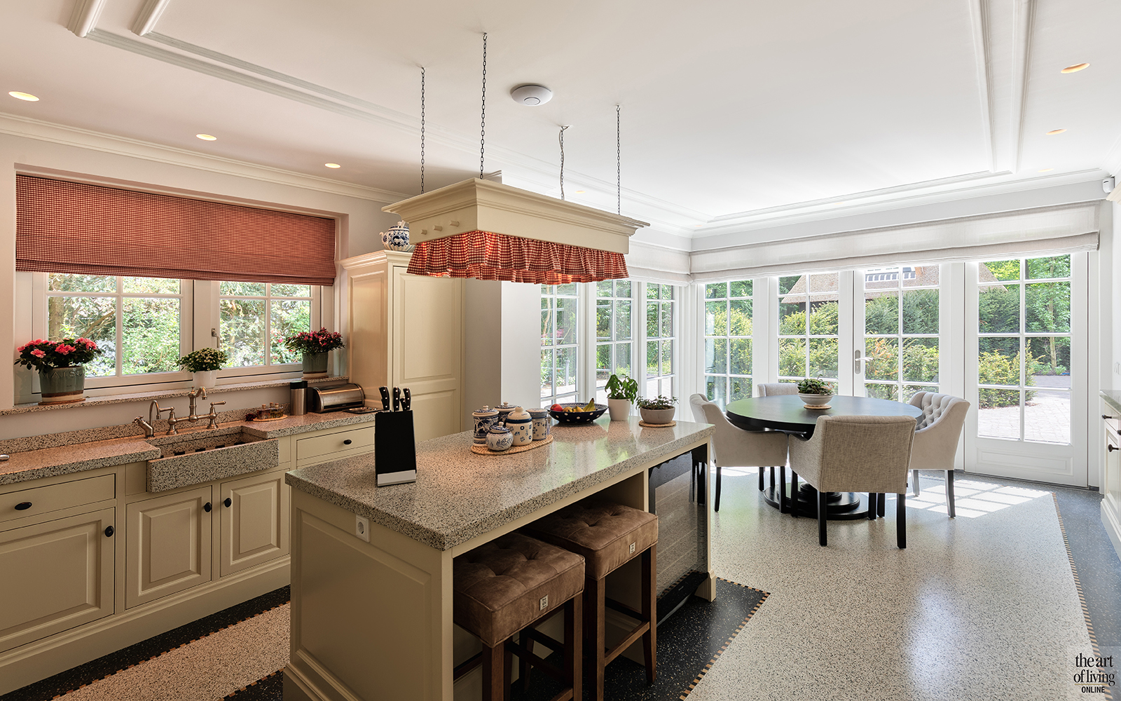 Klassiek-Landelijke keuken door Architectenbureau Atelier 3