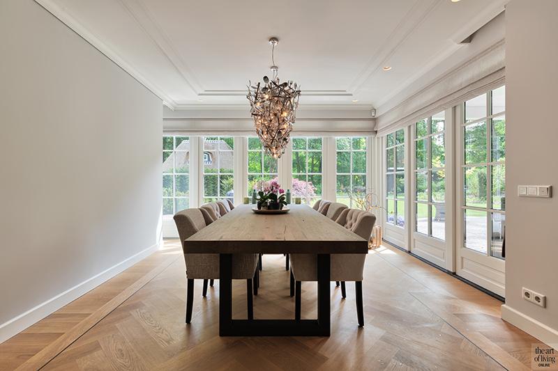Klassiek-Landelijke eetkamer door Architectenbureau Atelier 3   The ...