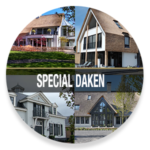 Daken, leien dak, rieten dak, the art of living