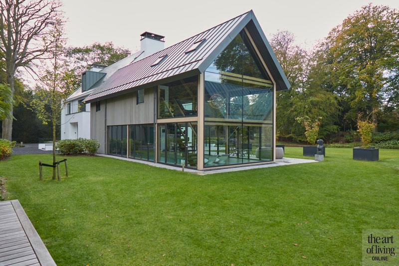 Tuin, Tuinen, Symmetrisch, Symmetrische villa, Jos van de Lindehoof, The Art of Living Online