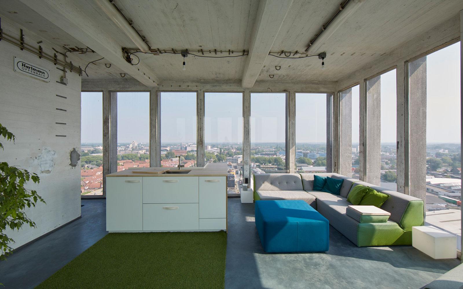 Sfeerbeton, beton vloer, keuken, industrieel, interieur, The Art of Living Online