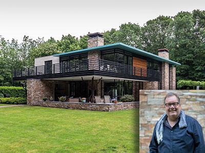 strakke villa, groene villa, design, exclusief wonen, The Art of Living, De Bats BNA Architecten