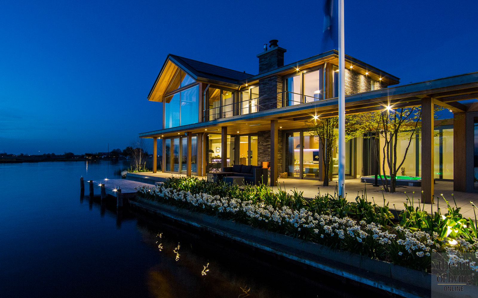Jacuzzi, Whirlpool, bad, American Lakehouse, the Art of Living