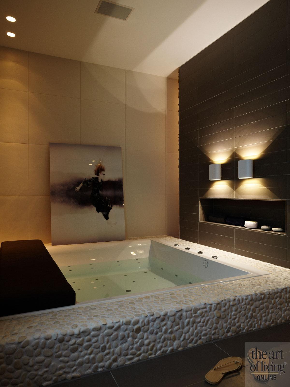 Jacuzzi, whirlpool, douche, design, Amsterdamse gracht, Osiris Hertman, the Art of Living