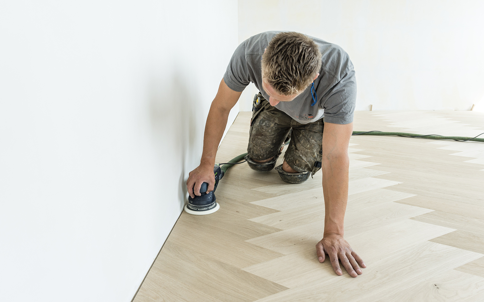 De Houtsnip, de duoplank houten vloeren