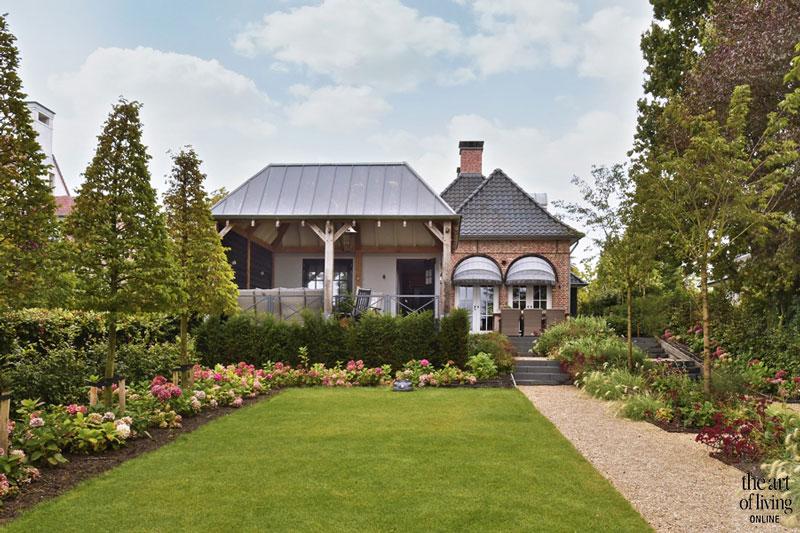 Villa, Droom, exterieur, overkapping, villa Kempische stijl, AA+ Ontwerpbureau, The Art of Living