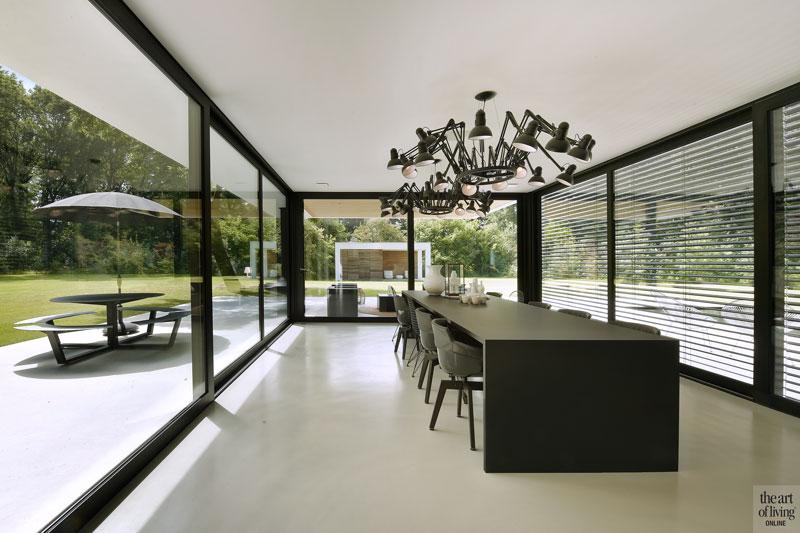 Luxe villa, Lab32 Architecten, drt gietvloeren, betonlook gietvloer, beton vloer, the art of living