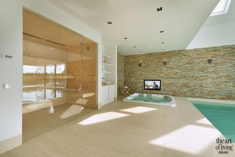 Zwembad, Zwembaden, Pool, Pools, design, wellness, Klassieke villa aan het water, Van Egmond Totaalarchitectuur, The Art of Living
