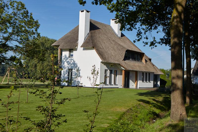 Villabouw in landelijke stijl, The art of living, landelijk villa, villa, landelijk, villa in het groen, Landelijk en industrieel gecombineerd, Wolfs Architecten